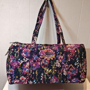 Vera Bradley Large Duffel Bag Midnight wildflowers